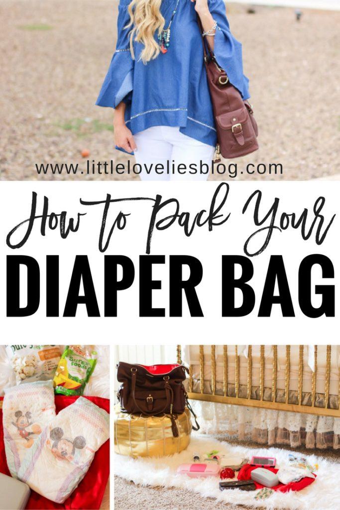 how to pack a diaper bag lily jade diaper bag