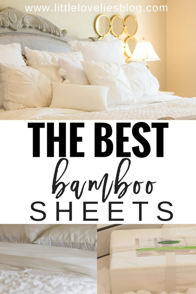 the best white bamboo sheets by cariloha