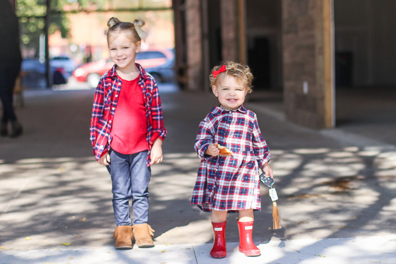 plaid matching outfits how to take photos of your kids