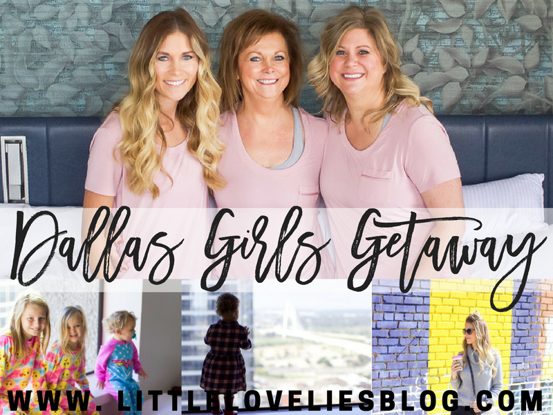 dallas girls getaway - plan a trip with girls to dallas (with kids) matching pajamas westin dallas downtown