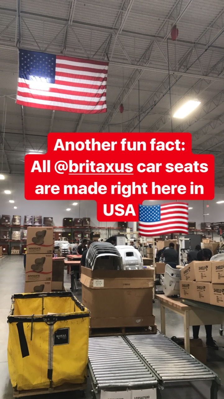 press trip to north carolina with britax carseat company