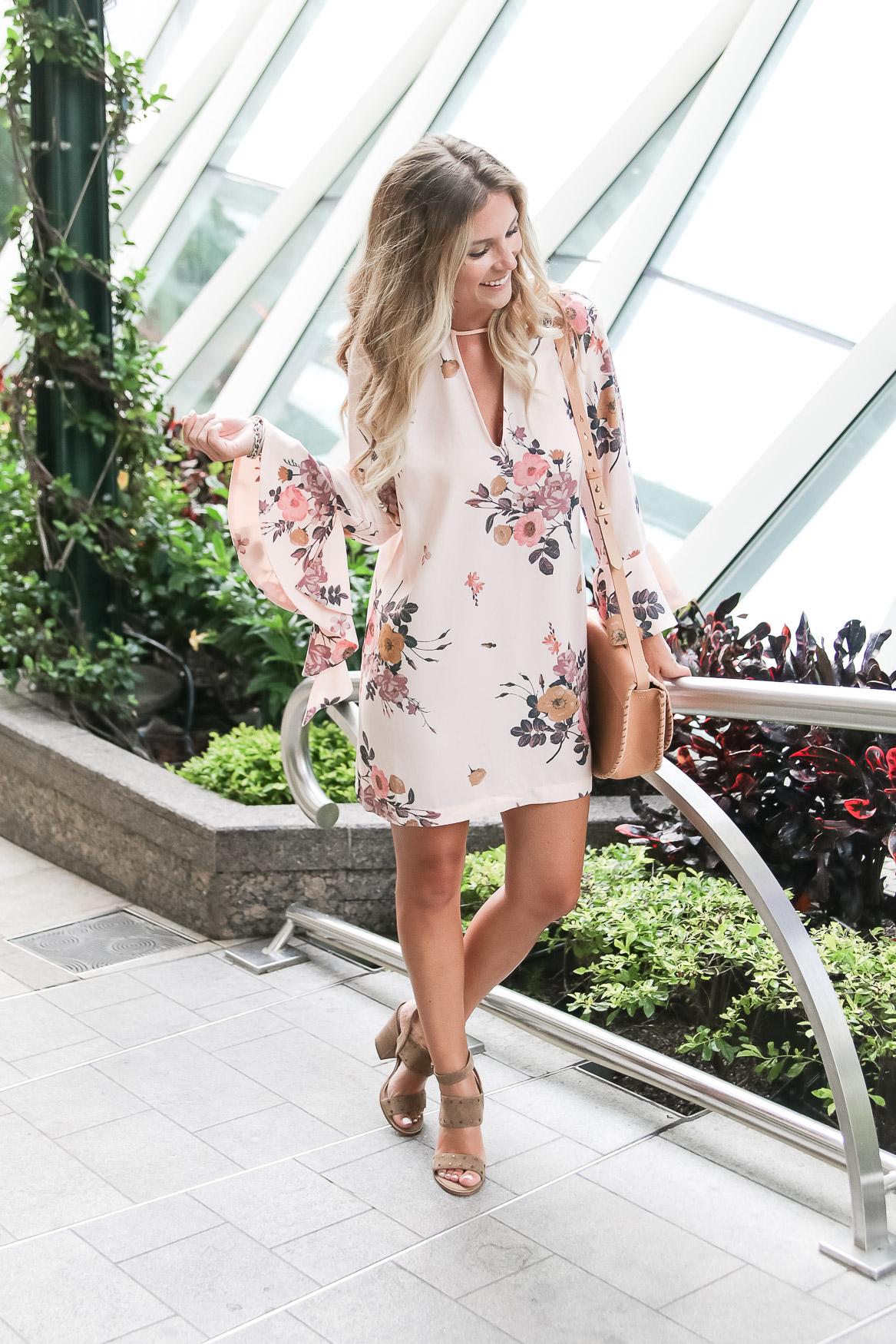 floral shift dress $45 nordstrom sale