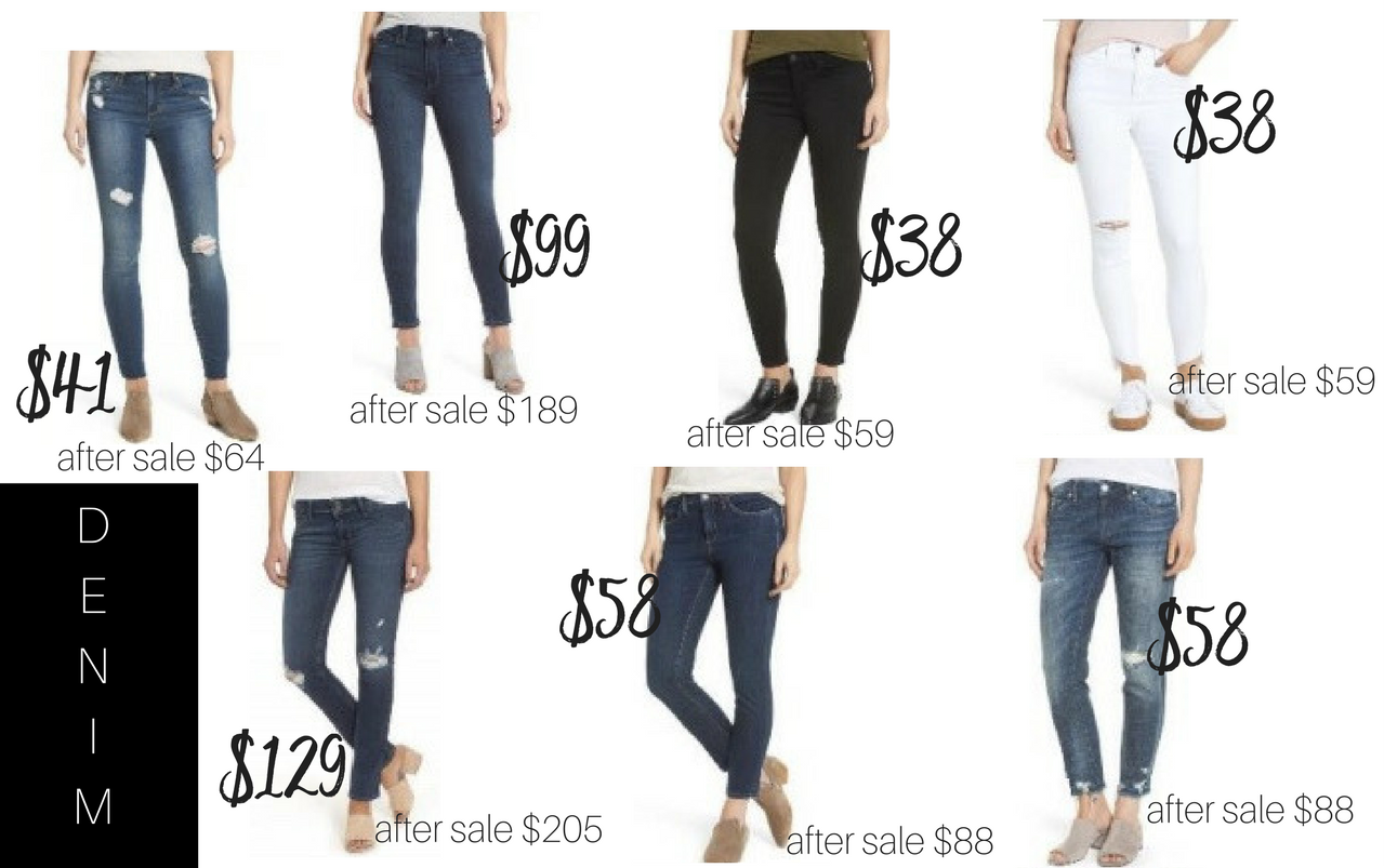 Denim Jeans // Which jeans to buy in Nordstrom Sale