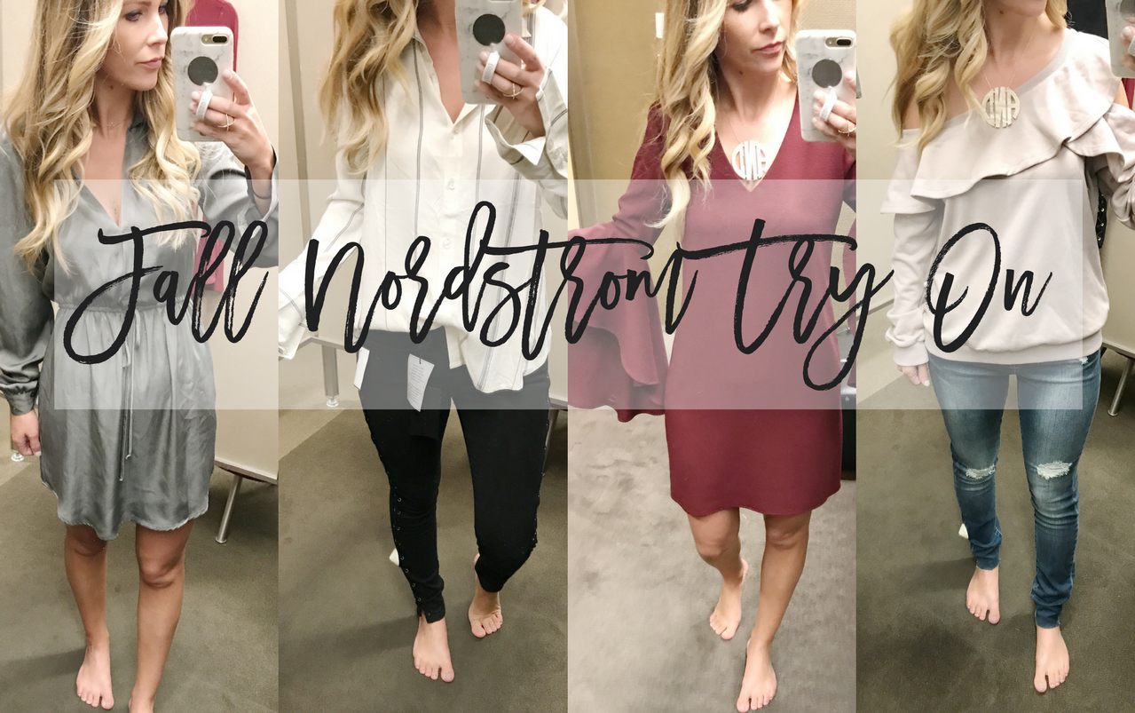 Nordstrom Fall Try On with Family Photo Options