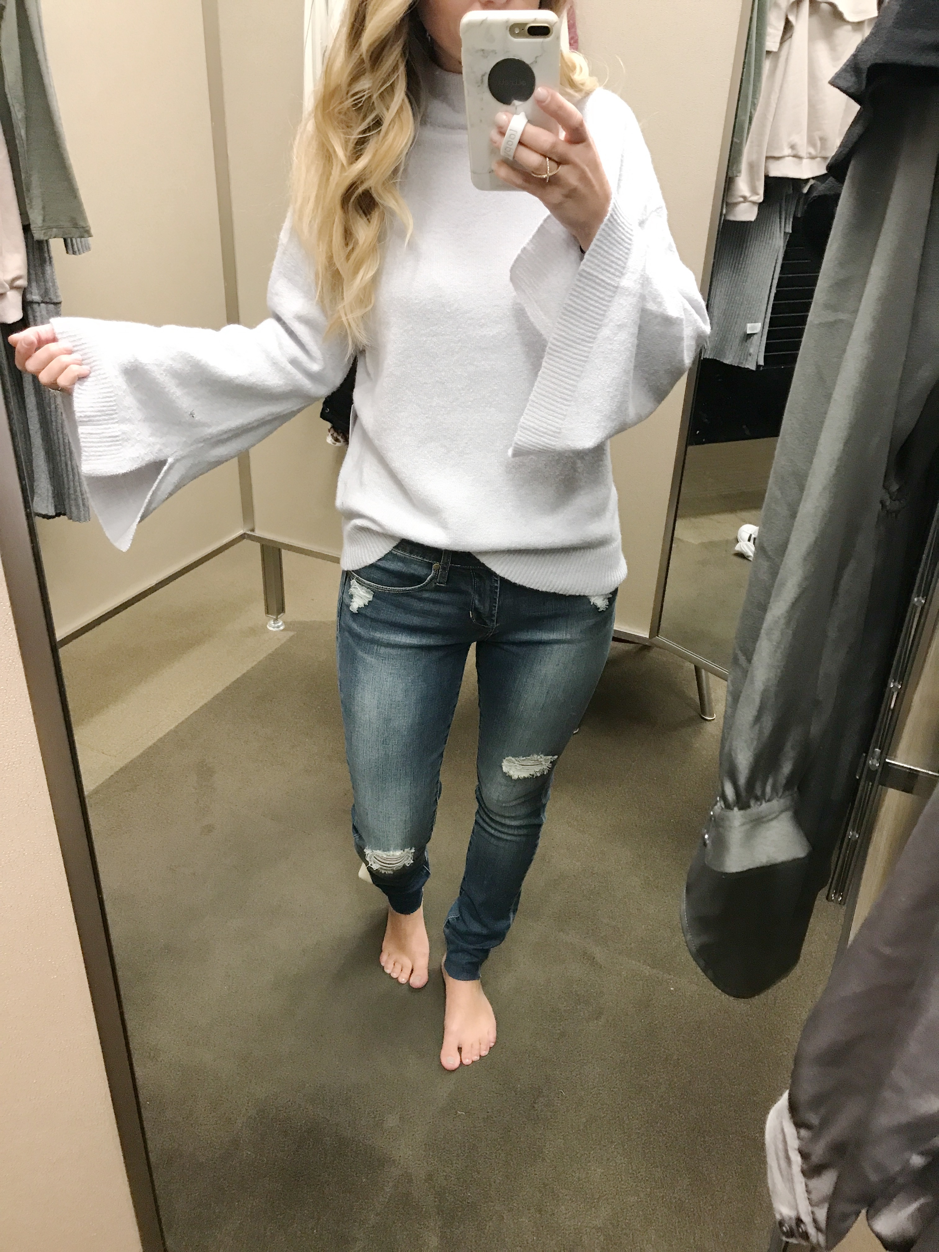 nordstrom try on haul fall clothes and dresses