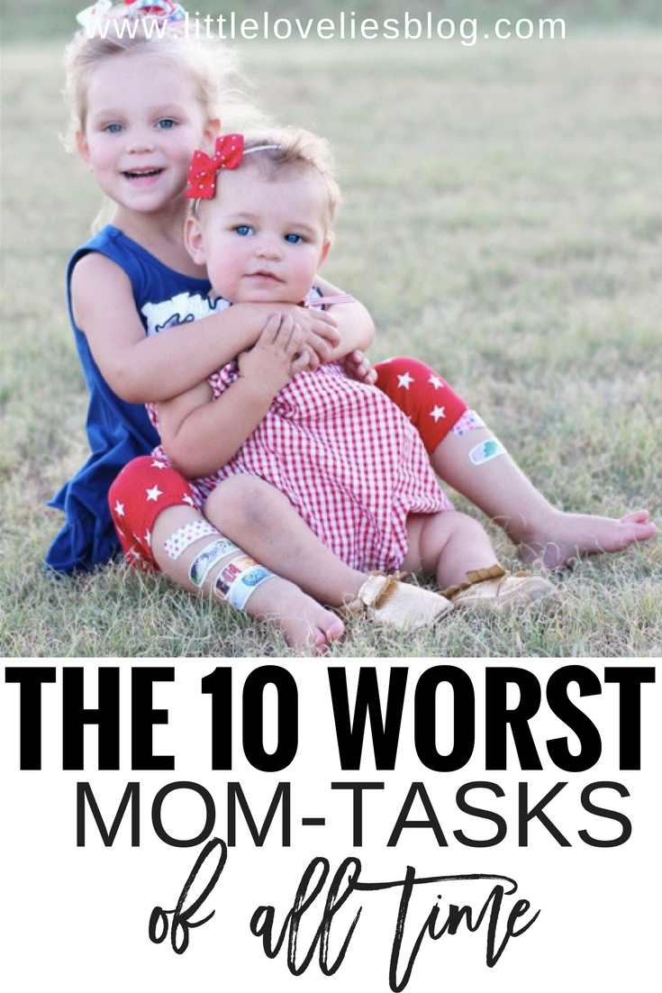The 10 Worst Mom-Tasks of All Time