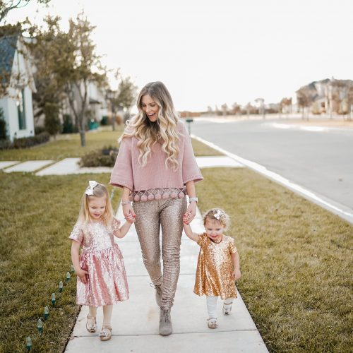 sparkle mommy and me outfits with coordinating colors! click through for more info to purchase the whole look!