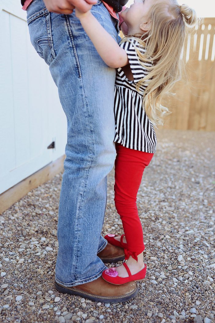 Daddy + Daughter Valentine's Date
