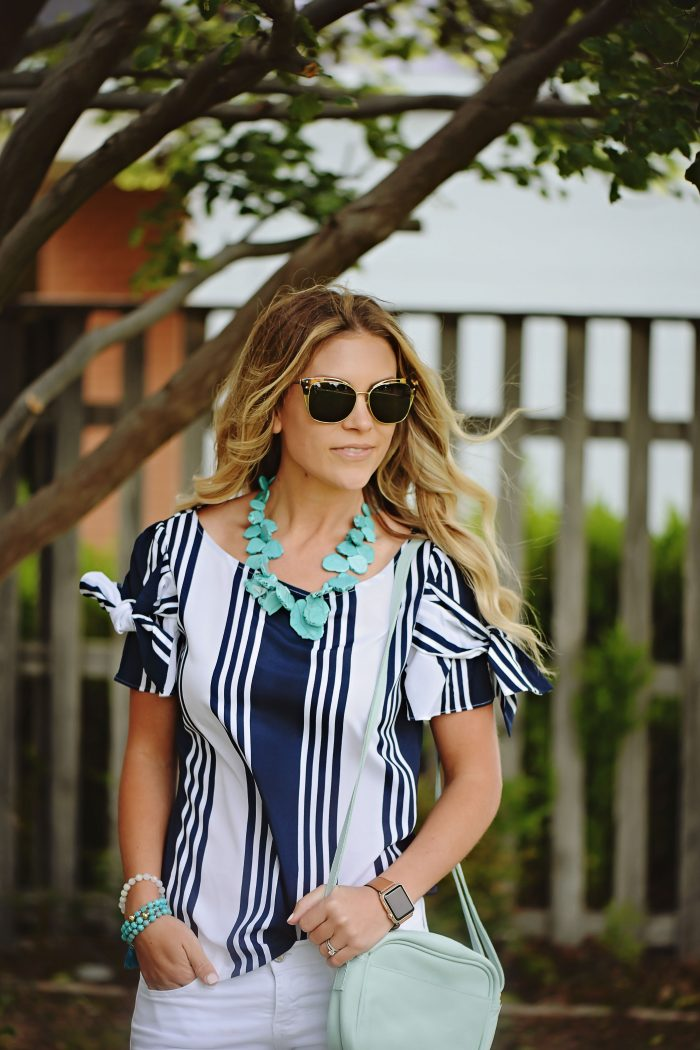 Spring Tops Under $100 + GIVEAWAY