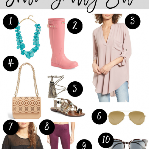 Nordstrom Half Yearly Sale Favorites // See them styled and save 40% off plus free shipping and returns!