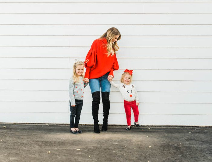 Festive and Fun Holiday Outfits for Moms and Kids