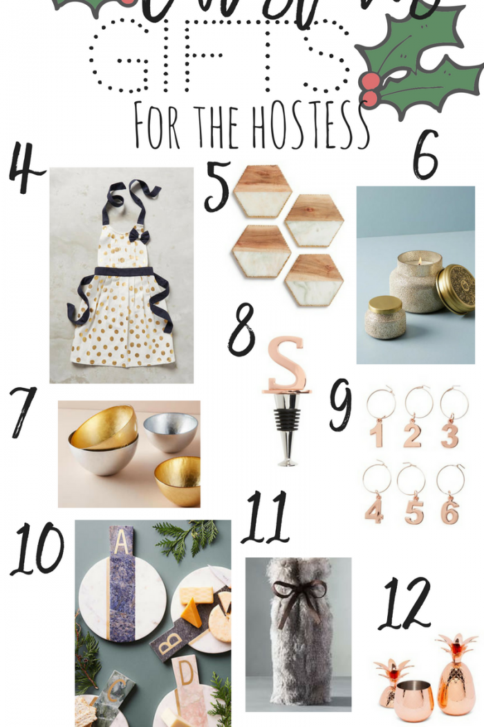 HOLIDAY HOSTESS GIFTS UNDER $40