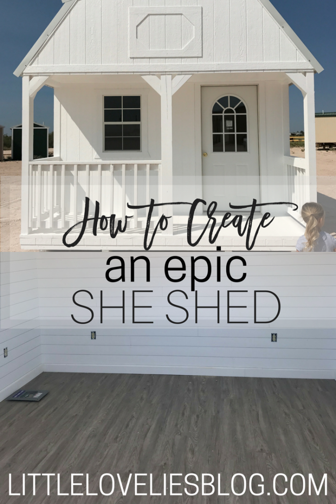 How to Create a She Shed of Your Dreams // Home Office Shed