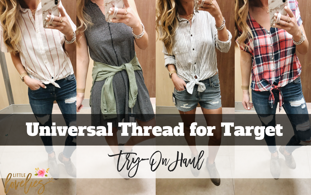 Universal Thread for Target Try-On Haul