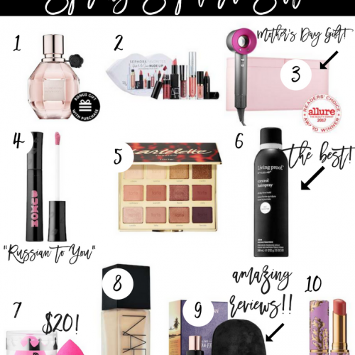 10 ITEMS WORTH BUYING FROM SEPHORA