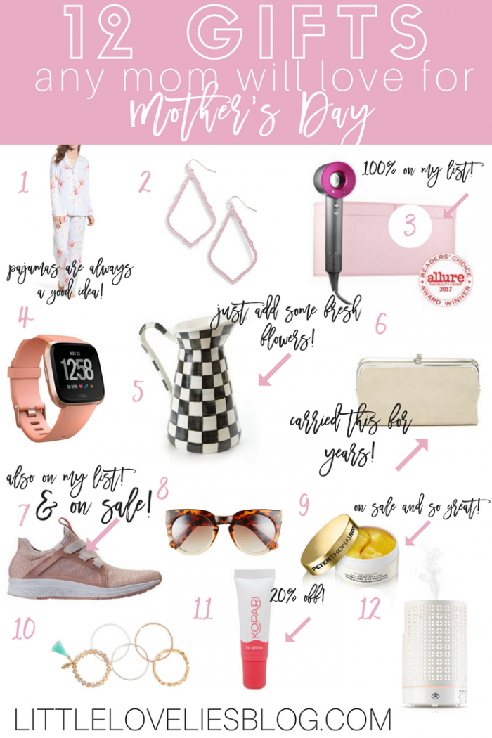 12 GIFTS ANY MOM WOULD LOVE FOR MOTHER'S DAY | GIFT GUIDE