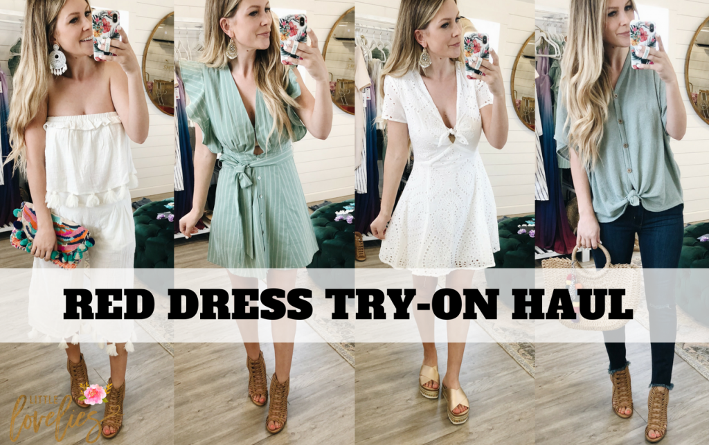 RED DRESS BOUTIQUE TRYON HAUL SPRING AND SUMMER ARRIVALS