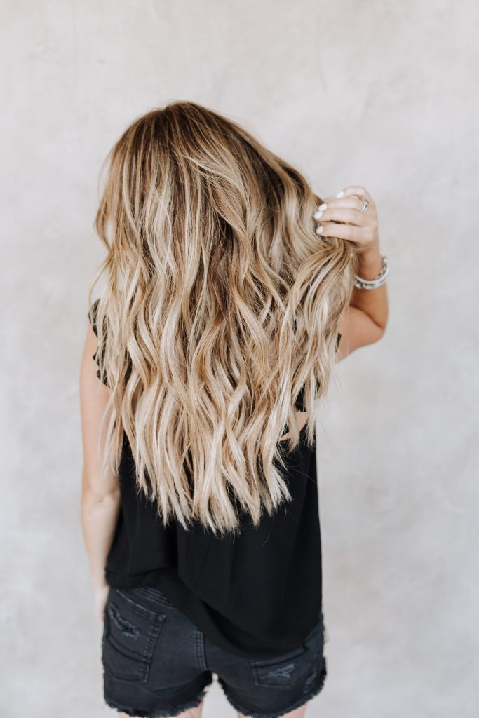 best hair color for blondes brown balayage babylights