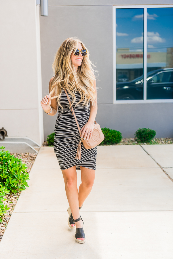leith bodycon ruched dress