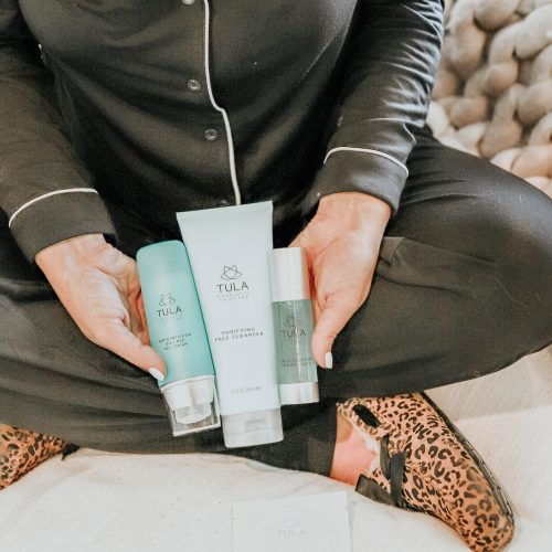 tula skincare routine morning and night during pregnancy