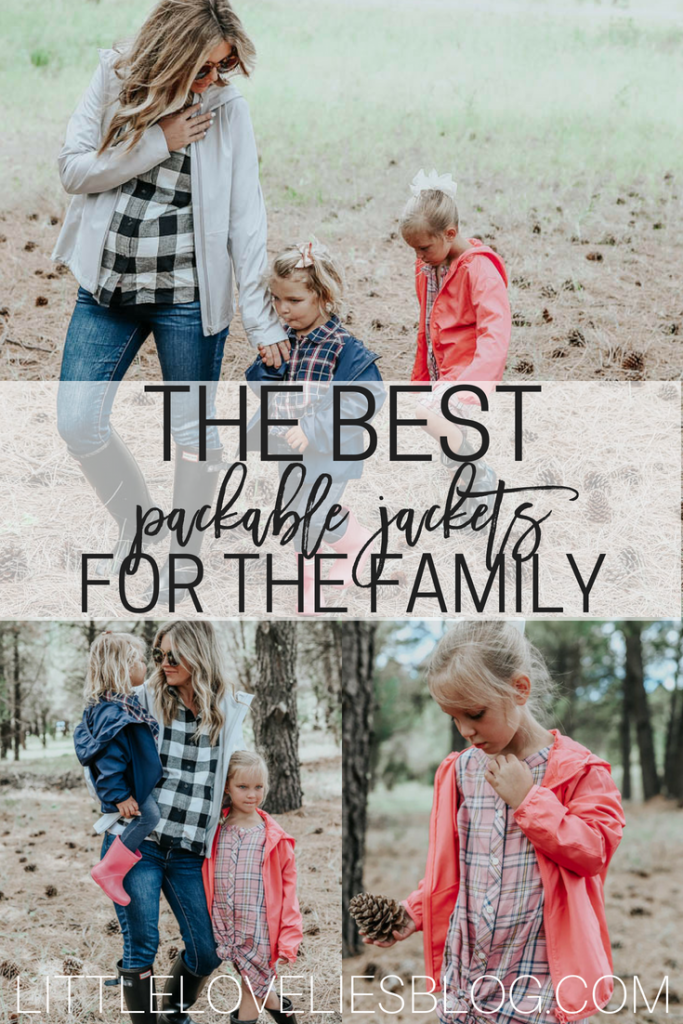 THE BEST PACKABLE JACKETS FOR THE WHOLE FAMILY + KIDS RAIN COATS