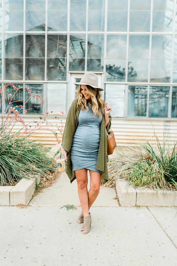 Easy Non-Maternity Outfits to Style Your Bump