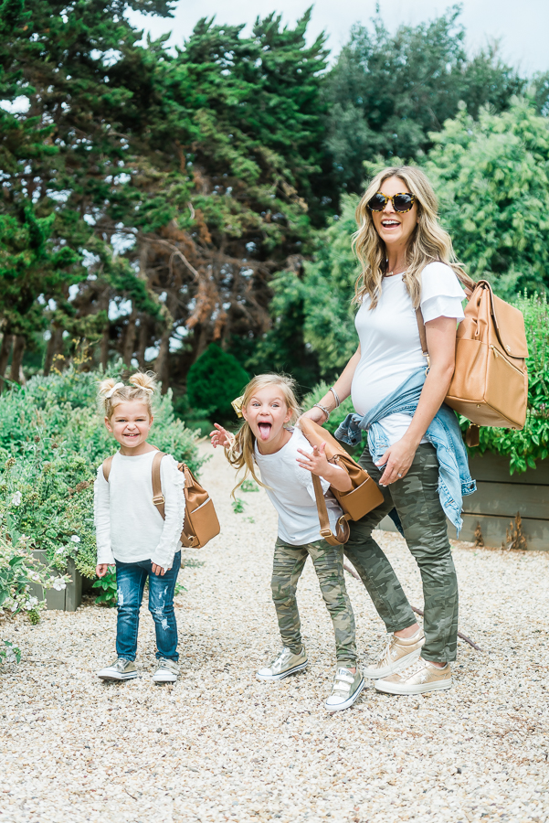 Mommy + Me Fall Style and The Best Diaper Bags