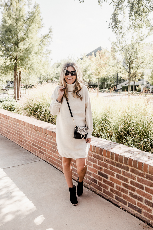 The Best Sweater Dresses and Snakeskin Details for Fall