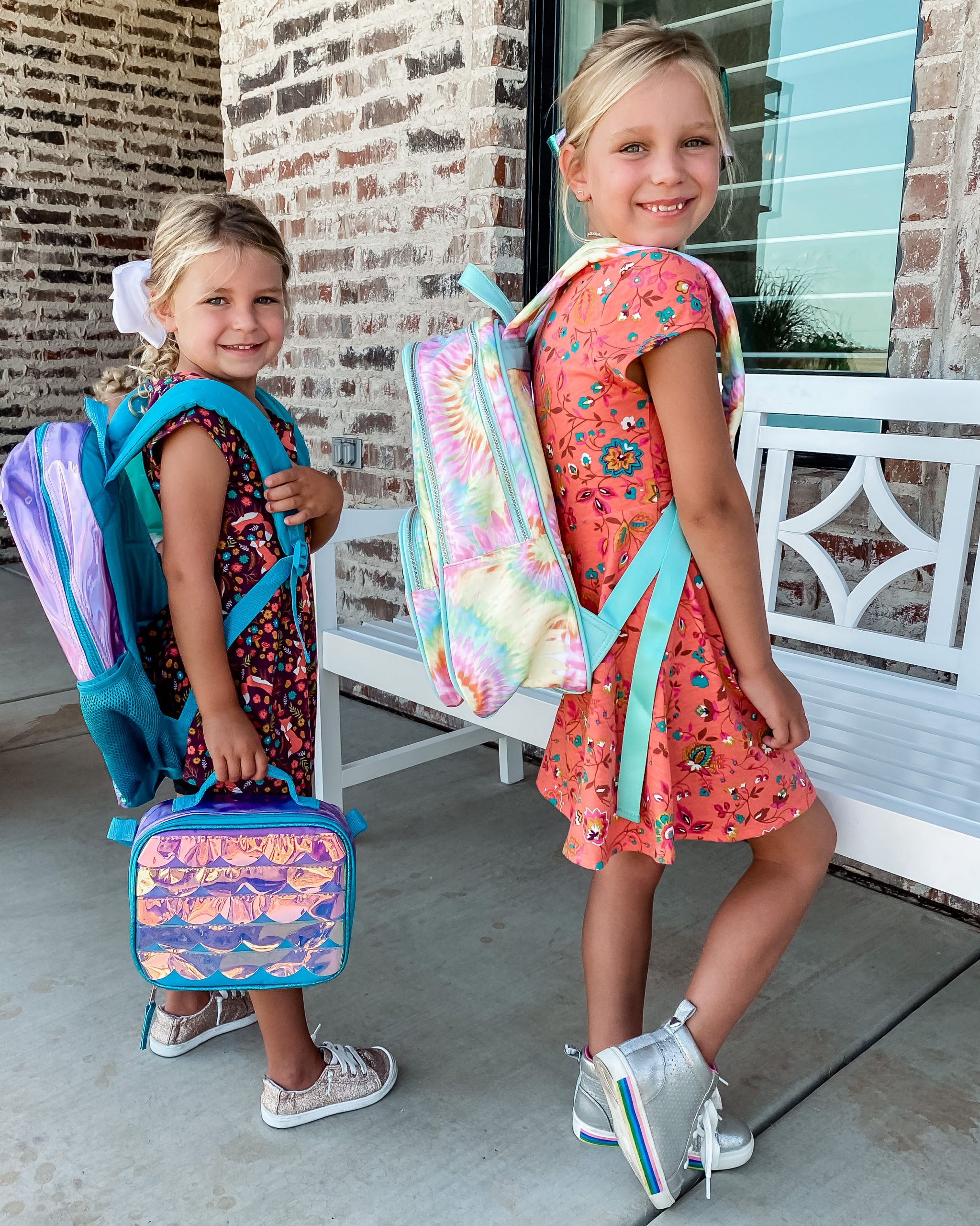 Affordable Back to School Outfits and backpacks for kids