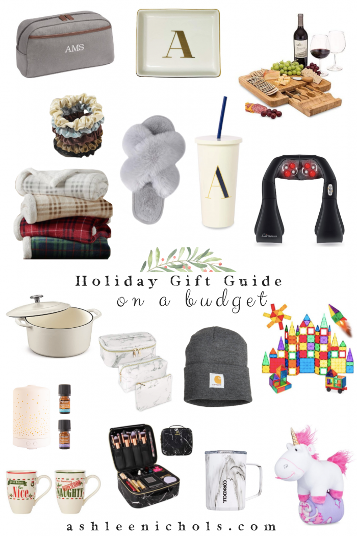 Holiday Gift Guide on a Budget