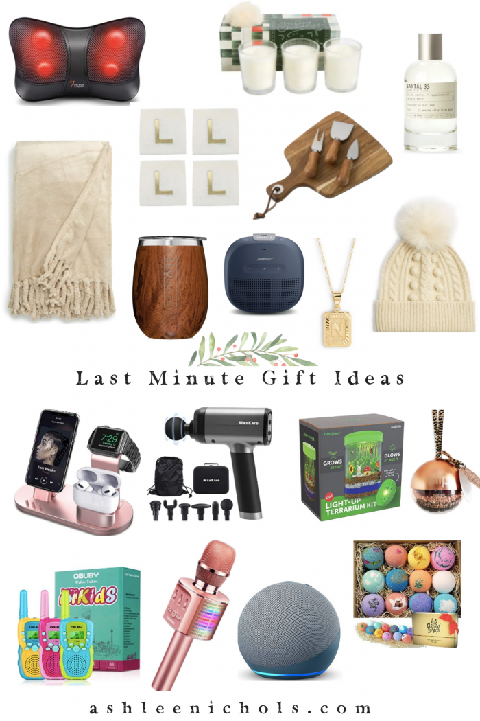 Holiday Gift Guide for Last Minute Gift Ideas