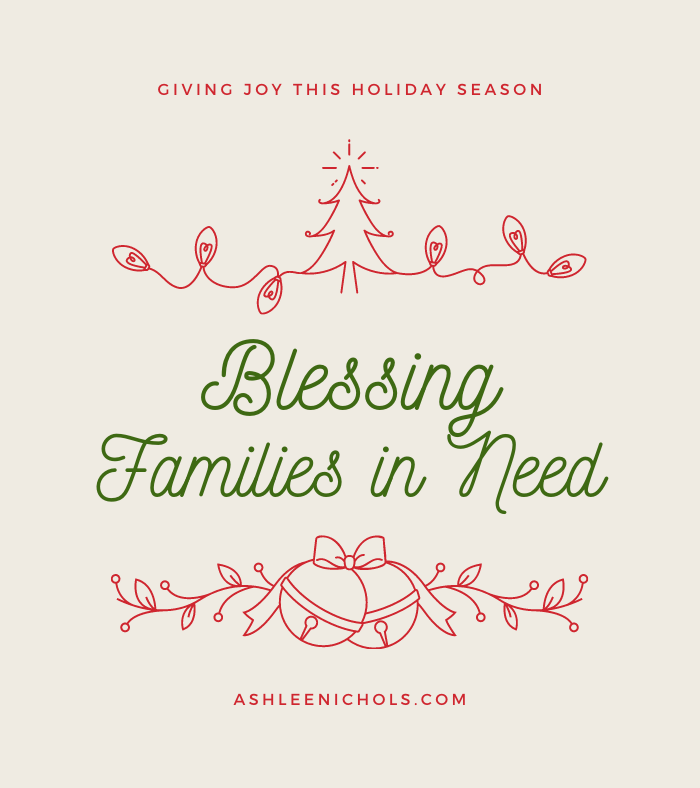 Blessing Families in Need This Christmas