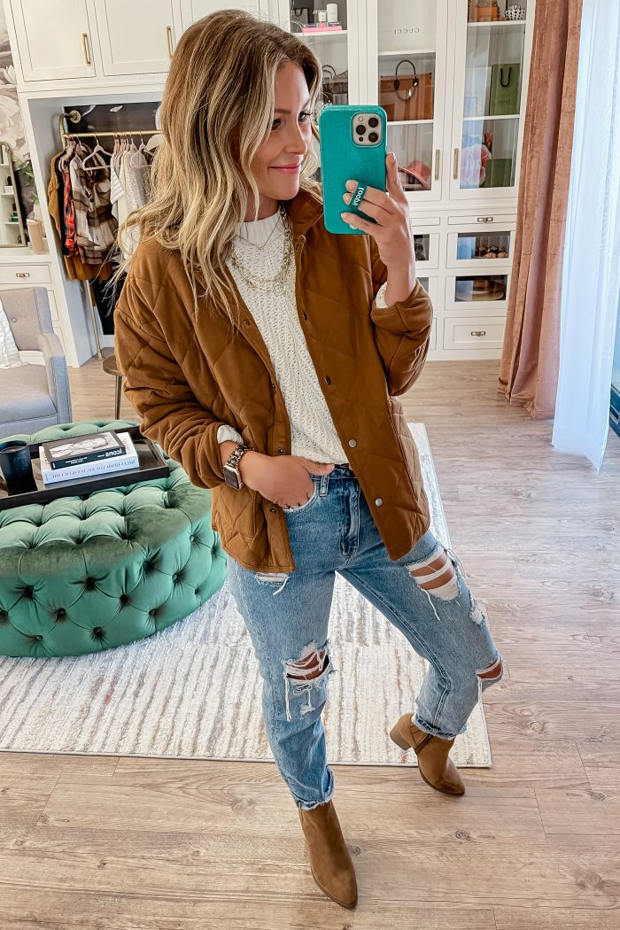 Quilted Jackets Under $200