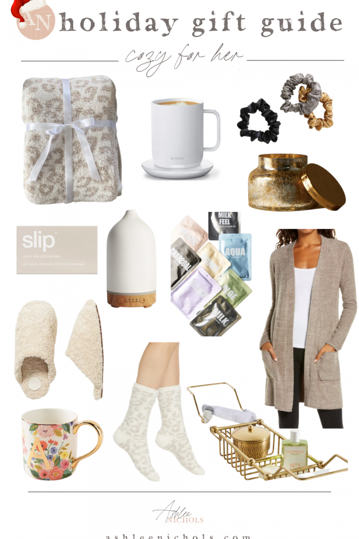 Holiday Gift Guide – Cozy Gifts for Her
